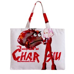 Michael Andrew Law s Mal Girl & Mr Bbq Pork Tiny Tote Bags by michaelandrewlaw