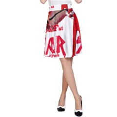 Michael Andrew Law s Mal Girl & Mr Bbq Pork A-line Skirt