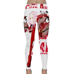 Michael Andrew Law s Mal Girl & Mr Bbq Pork Yoga Leggings by michaelandrewlaw