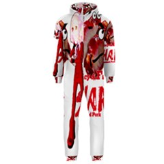 Michael Andrew Law s Mal Girl & Mr Bbq Pork Hooded Jumpsuit (men)  by michaelandrewlaw