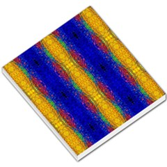 Cool  Abstract Neon Pattern Small Memo Pads by Costasonlineshop