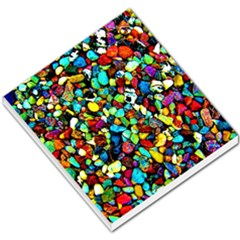 Colorful Stones, Nature Small Memo Pads by Costasonlineshop