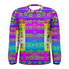 Peace And Groovy Men s Long Sleeve T Shirt
