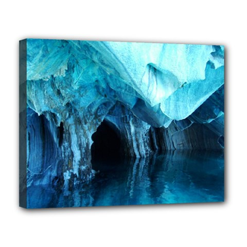 Marble Caves 3 Canvas 14  X 11  by trendistuff