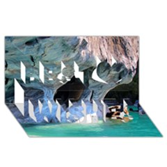 Marble Caves 2 Best Wish 3d Greeting Card (8x4)  by trendistuff