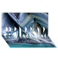Marble Caves 1 #1 Mom 3d Greeting Cards (8x4)