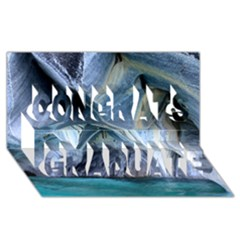 Marble Caves 1 Congrats Graduate 3d Greeting Card (8x4)  by trendistuff