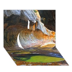 Left Fork Creek Apple 3d Greeting Card (7x5)