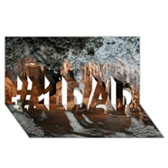 Jenolan Imperial Cave #1 Dad 3d Greeting Card (8x4)  by trendistuff