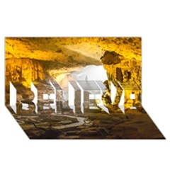 Ha Long Bay Believe 3d Greeting Card (8x4)  by trendistuff