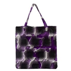 Fading Holes Grocery Tote Bag by LalyLauraFLM
