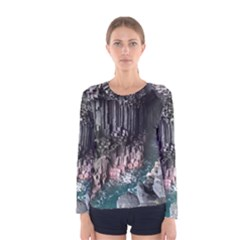 Fingals Cave Women s Long Sleeve T Shirts