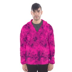 Pink Tarn Hooded Wind Breaker (men)