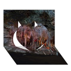 Caves Of Drach Heart 3d Greeting Card (7x5)  by trendistuff