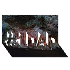 Caves Of Drach #1 Dad 3d Greeting Card (8x4)  by trendistuff