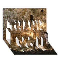 Carlsbad Caverns Thank You 3d Greeting Card (7x5)  by trendistuff