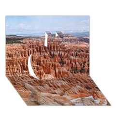 Bryce Canyon Amp Apple 3d Greeting Card (7x5)  by trendistuff