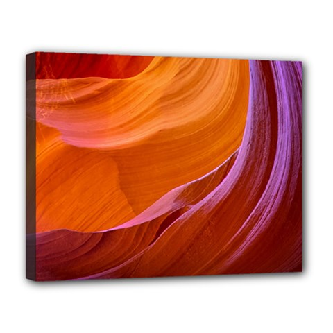 Antelope Canyon 2m Canvas 14  X 11  by trendistuff