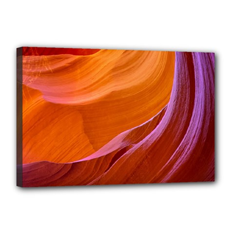 Antelope Canyon 2m Canvas 18  X 12  by trendistuff