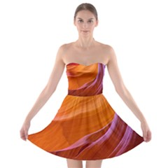 Antelope Canyon 2m Strapless Bra Top Dress by trendistuff