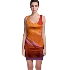 Antelope Canyon 2 Bodycon Dresses