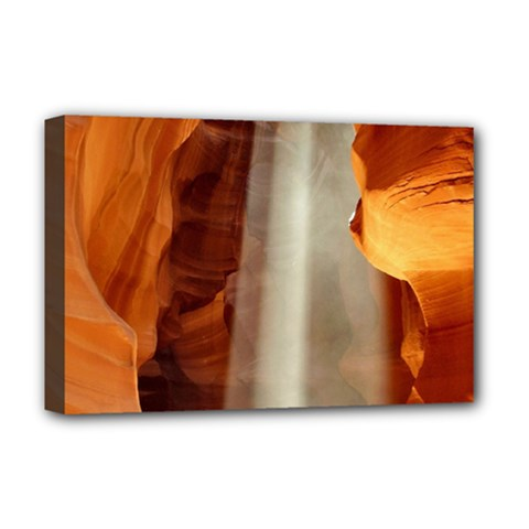 Antelope Canyon 1 Deluxe Canvas 18  X 12   by trendistuff