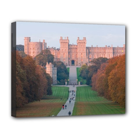 Windsor Castle Deluxe Canvas 20  X 16   by trendistuff