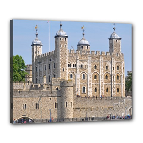 Tower Of London 2 Canvas 20  X 16  by trendistuff