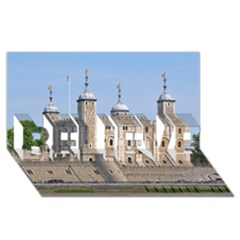 Tower Of London 2 Believe 3d Greeting Card (8x4)  by trendistuff