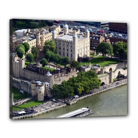 Tower Of London 1 Canvas 20  X 16  by trendistuff