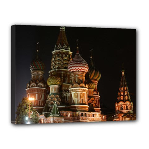 St Basil s Cathedral Canvas 16  X 12  by trendistuff