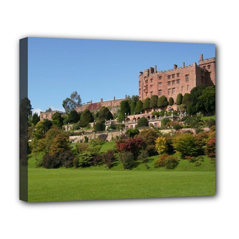 Powis Castle Terraces Deluxe Canvas 20  X 16   by trendistuff