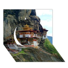 Paro Taktsang Circle 3d Greeting Card (7x5)