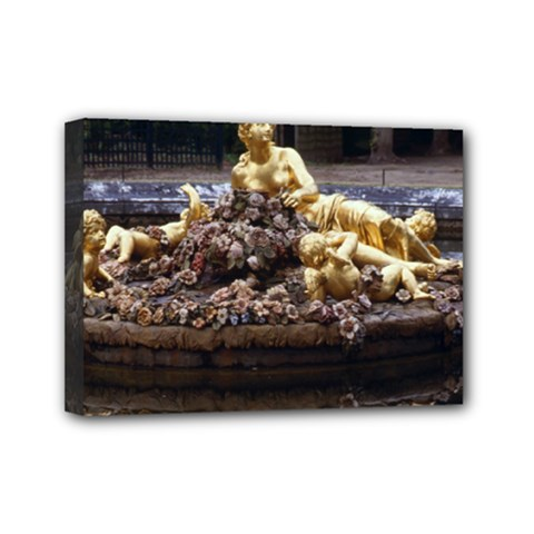 Palace Of Versailles 3 Mini Canvas 7  X 5  by trendistuff