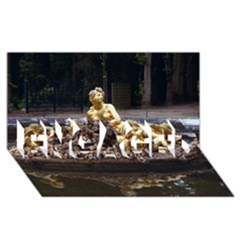 Palace Of Versailles 3 Engaged 3d Greeting Card (8x4)  by trendistuff