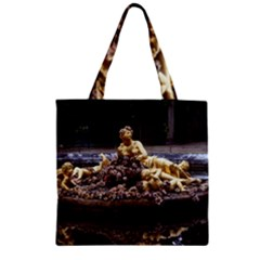 Palace Of Versailles 3 Zipper Grocery Tote Bags by trendistuff
