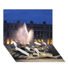 Palace Of Versailles 2 Love Bottom 3d Greeting Card (7x5)