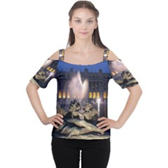 Palace Of Versailles 2 Women s Cutout Shoulder Tee