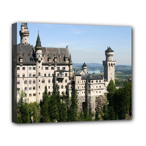 Neuschwanstein Castle 2 Deluxe Canvas 20  X 16   by trendistuff