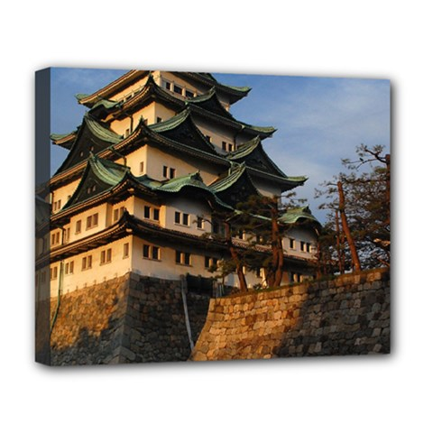 Nagoya Castle Deluxe Canvas 20  X 16   by trendistuff