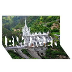 Las Lajas Sanctuary 2 Engaged 3d Greeting Card (8x4)