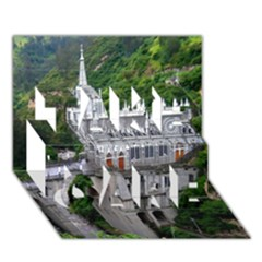 Las Lajas Sanctuary 2 Take Care 3d Greeting Card (7x5)  by trendistuff