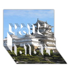 Himeji Castle You Did It 3d Greeting Card (7x5) by trendistuff