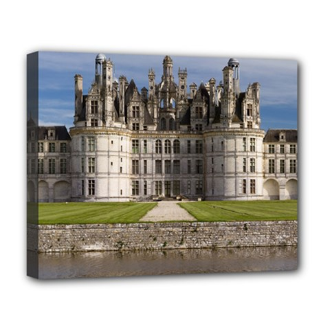 Chambord Castle Deluxe Canvas 20  X 16   by trendistuff