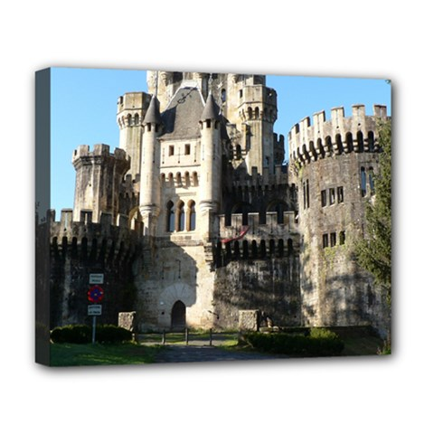 Butron Castle Deluxe Canvas 20  X 16   by trendistuff