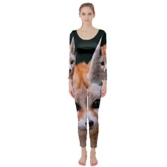 Baby Fox Long Sleeve Catsuit