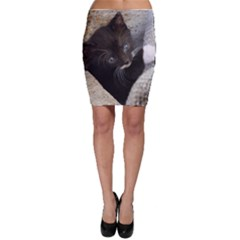 Pretty Blue-eyed Kitty Bodycon Skirts by trendistuff