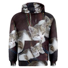 Kitty Twins Men s Pullover Hoodies by trendistuff