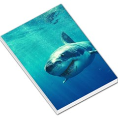 Great White Shark 1 Large Memo Pads