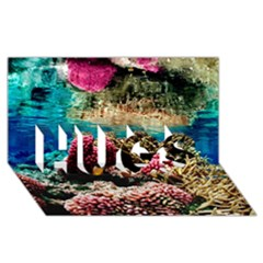 Coral Reefs 1 Hugs 3d Greeting Card (8x4)